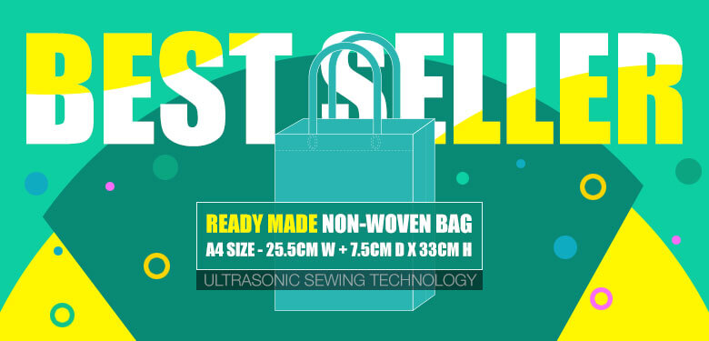 Best Seller non-woven bag and eco bag in Malaysia