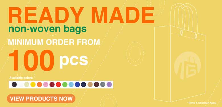 Promotion for Ready made Non woven bag