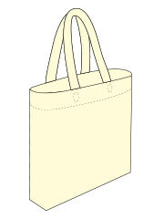 Flat Non woven bag with Base